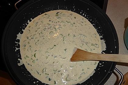 Käse-Lauch-Suppe mit Hackfleisch 87