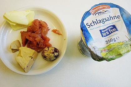 Perhuhn- und Wachtelkeulen gefüllt an einer Gemüsevariation 7