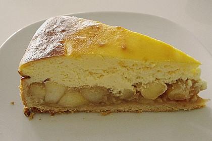 Bratapfel - Käsekuchen 2