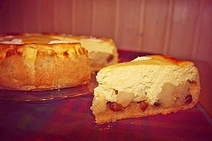 Bratapfel - Käsekuchen