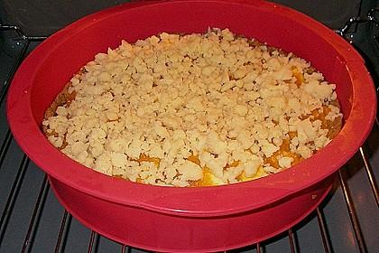 Kürbis - Apfelkuchen mit Streuseln 3