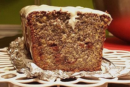 Mohn - Marzipan - Kuchen 2