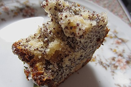 Mohn - Marzipan - Kuchen 10