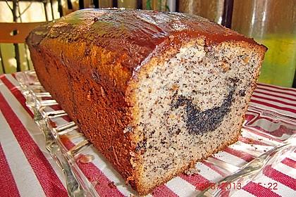 Mohn - Marzipan - Kuchen 3
