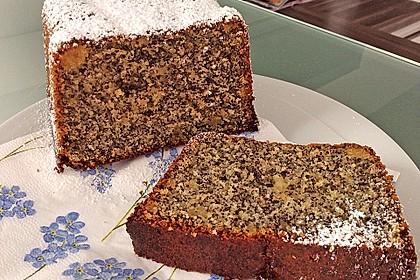 Mohn - Marzipan - Kuchen 4