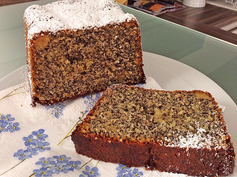 Kuchen rezepte mit mohn und marzipan