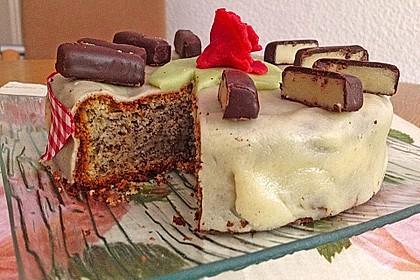 Mohn - Marzipan - Kuchen 5