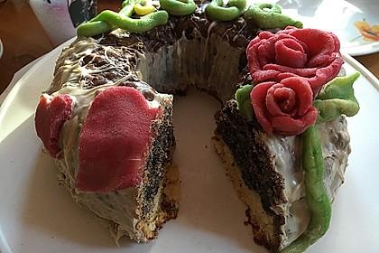 Mohn - Marzipan - Kuchen