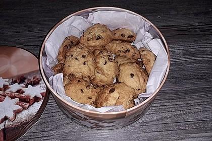Schokostückchen - Kekse 6