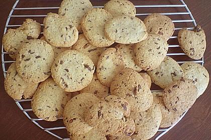 Schokostückchen - Kekse 1
