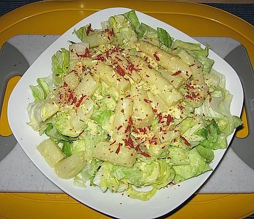 illes leichte salatso e f r kartoffelsalat oder auch eiersalat rezept mit bild. Black Bedroom Furniture Sets. Home Design Ideas