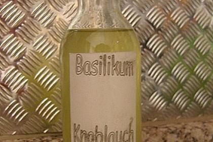 Basilikum - Knoblauchöl 6