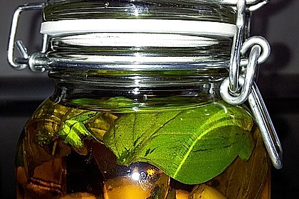 Basilikum - Knoblauchöl 2
