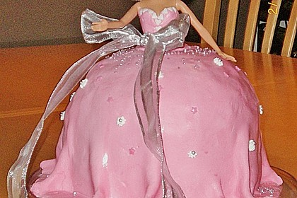 Barbie-Torte 203