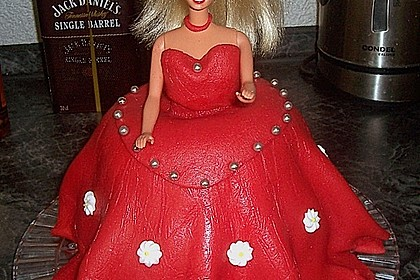 Barbie-Torte 153
