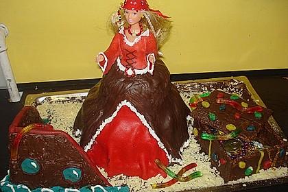 Barbie-Torte 100