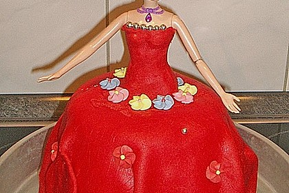 Barbie-Torte 222