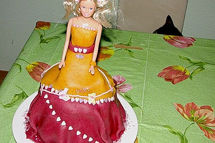 Barbie-Torte 304