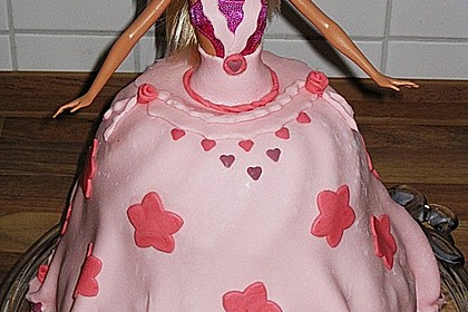 Barbie-Torte 87