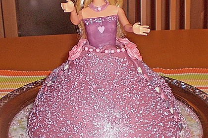 Barbie-Torte 72