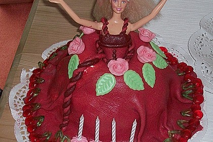 Barbie-Torte 171