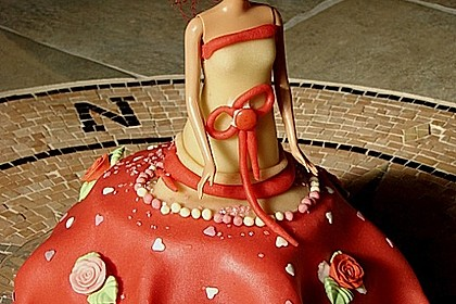 Barbie-Torte 282