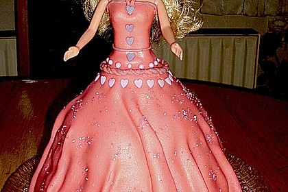Barbie-Torte 67