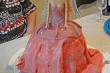 Barbie-Torte 144
