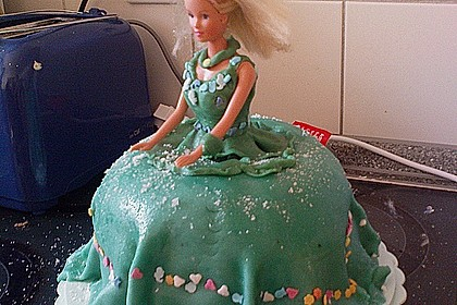 Barbie-Torte 270