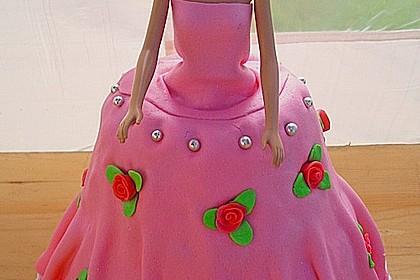 Barbie-Torte 140