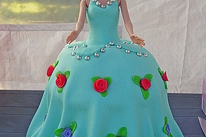Barbie-Torte 24