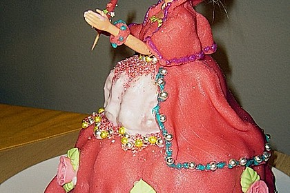 Barbie-Torte 287