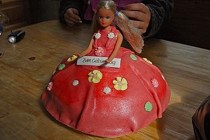 Barbie-Torte 205