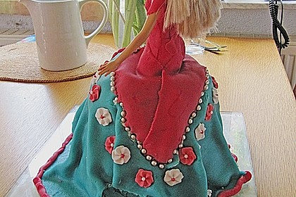 Barbie-Torte 291