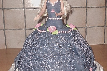 Barbie-Torte 44