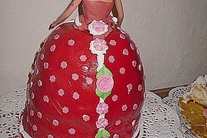 Barbie-Torte 348