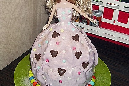 Barbie-Torte 238