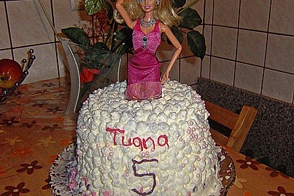 Barbie-Torte 338