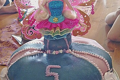 Barbie-Torte 307