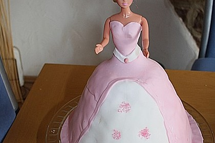 Barbie-Torte 155