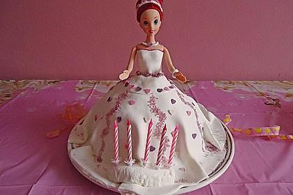 Barbie-Torte 76