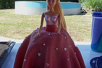 Barbie-Torte 40