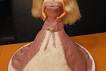 Barbie-Torte 90