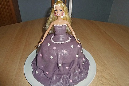 Barbie-Torte 159