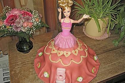 Barbie-Torte 56