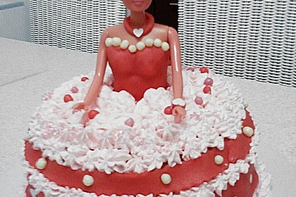 Barbie-Torte 251