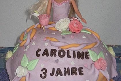 Barbie-Torte 123
