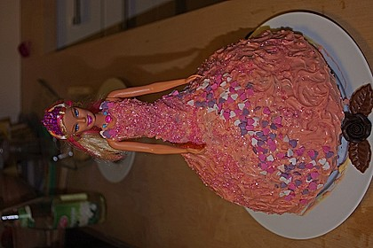 Barbie-Torte 69