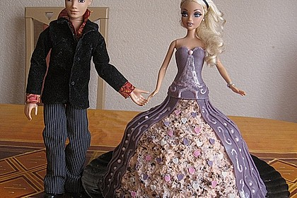 Barbie-Torte 26