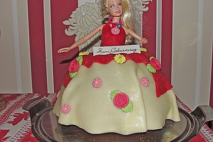 Barbie-Torte 122